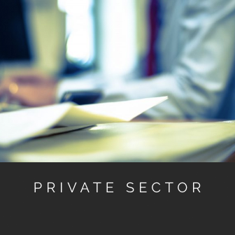 accounting services for private sector