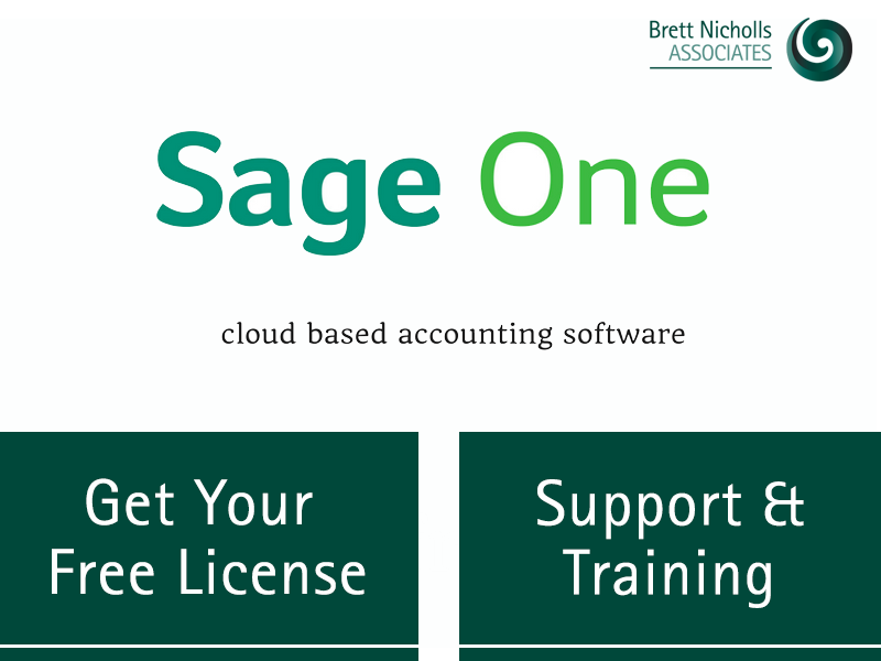 Sage One is a cloud based accounting software, Get your free license, we will provide training and support