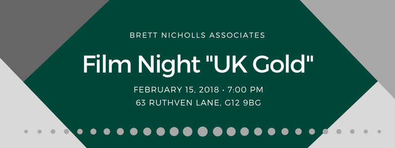 Invitation to the film night of UK Gold on Tax AVoidance
