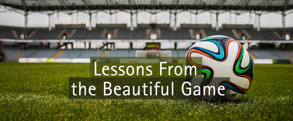Lessons from the beautiful game - football pitch