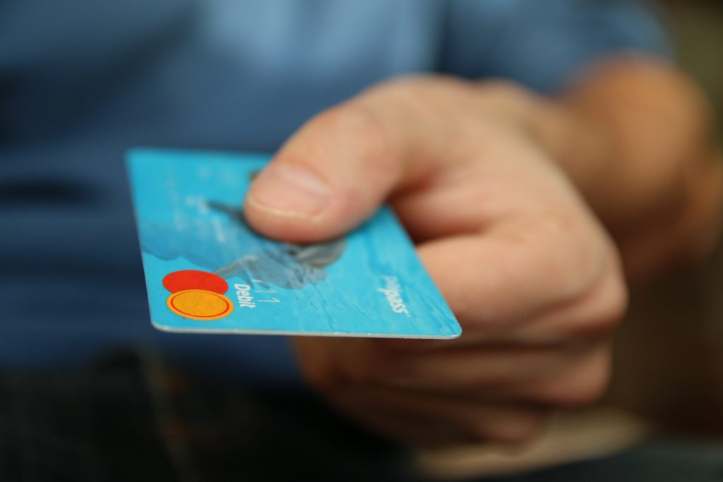 bank card fear out of finance